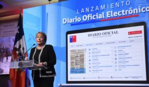 Diario Oficial electrónico