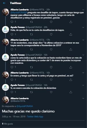 Ejemplo Lenguaje Claro Fonasa