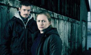 Poster de la serie nortemaericana The Killing basada en la serie danesa Forbrydelsen.