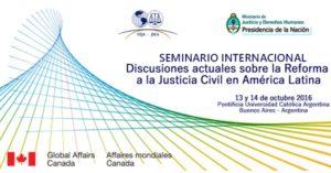 reforma a la justicia civil