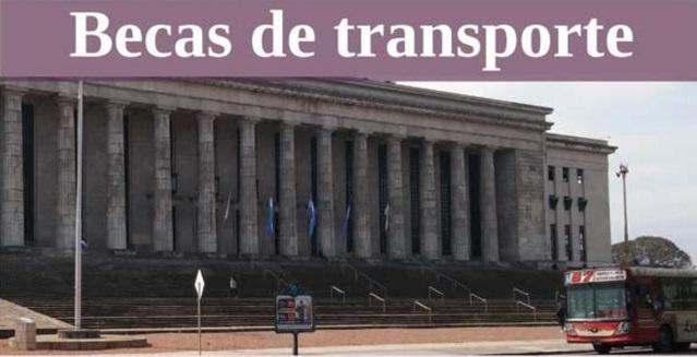 becas de transporte