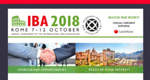 conferencia IBA 2018