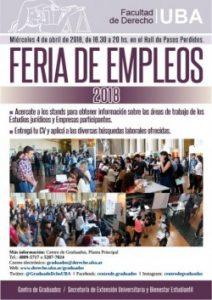 Feria de empleos 2018