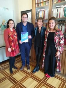 Carmen Pérez Andujar, Manel Atseria, Victoria Ortega Benito y Sara Molina Pérez-Tomé