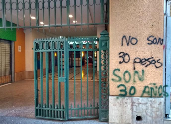 crisis en Chile