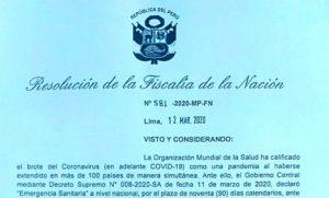 Ministerio Público Perú