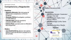 competencia y regulación