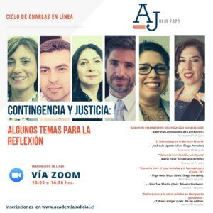 ciclo charlas Academia Judicial