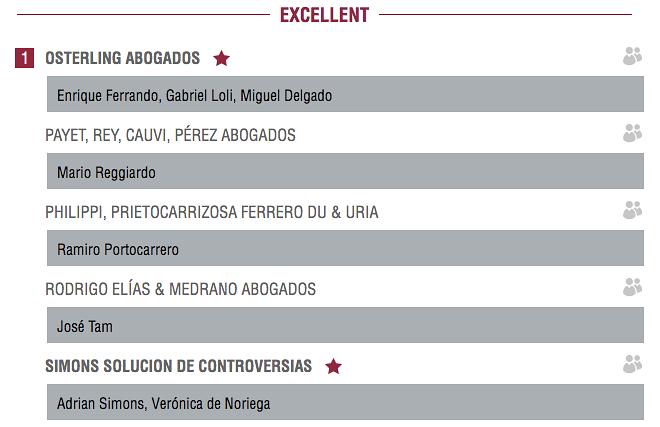los mejores árbitros del Perú