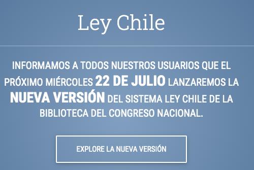 nueva versión ley chile