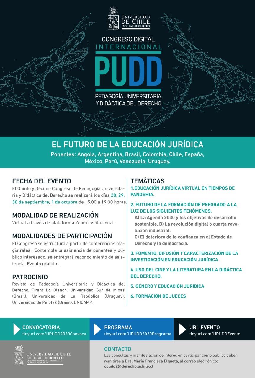 Congreso Internacional Pedagogía Universitaria y Didáctica del Derecho
