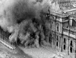 Golpe de Estado: Bombardeo al Palacio de la Moneda 1973