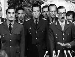 Crisis política: Fotografía de Jorge Rafael Videla